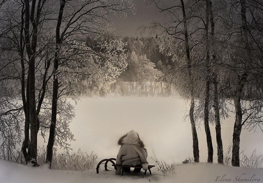 cool-animal-children-photography-Elena-Shumilova-snow