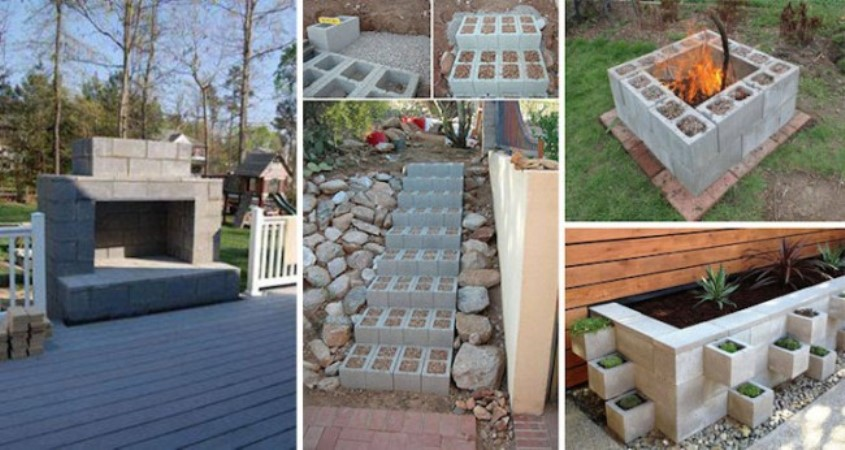 14 Genius Ways To Use Cinder Blocks In Your Home And