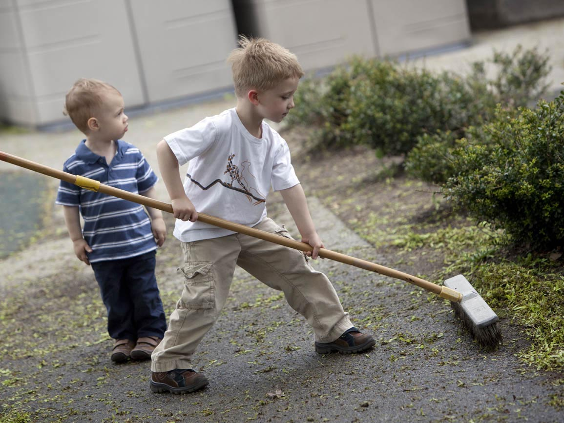 kids who do chores are more likely to be successful adults